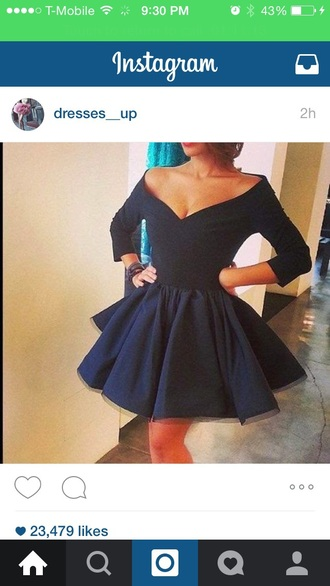 dress black dress prom dress fashion style