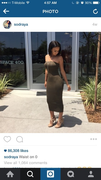 dress draya michele bodycon dress green dress