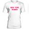 New york women tshirt