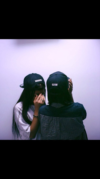 snapback bonnie and clyde bff hat