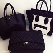 bag,antigona,givenchy antigona,givenchy,givenchy bag,black,celine,celine bag,black and white,leather,chanel,chanel bag,chain bag,bags and purses,black bag