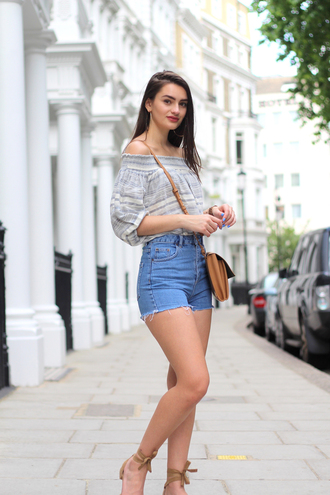 peexo blogger top shorts shoes bag