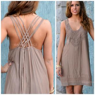 dress summer dress spring dress mocha dress lace dress lace details mocha dainty summer outfits southern charm feminine