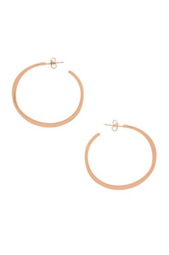 earrings metallic copper jewels