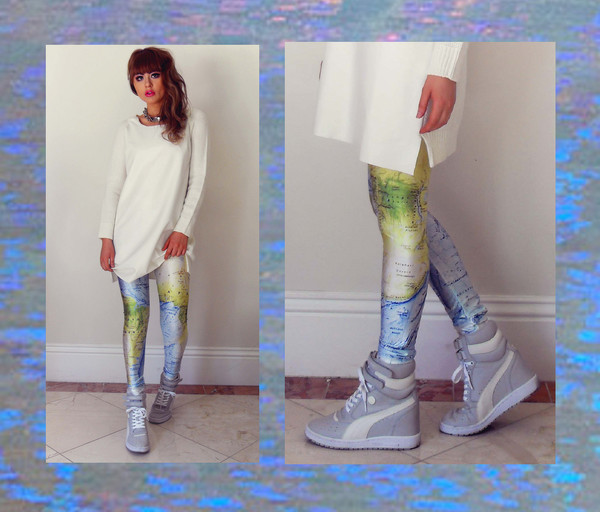 fated to be hated leggings shoes jewels