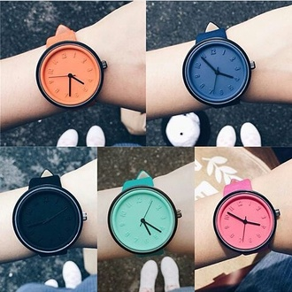 dress watch colorblock hipster