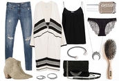 passions for fashion,blogger,jeans,cardigan,nail polish,underwear,lace lingerie,suede boots