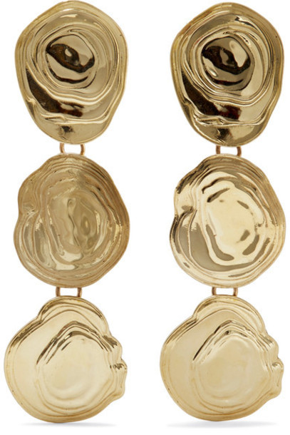 Leigh Miller earrings gold jewels