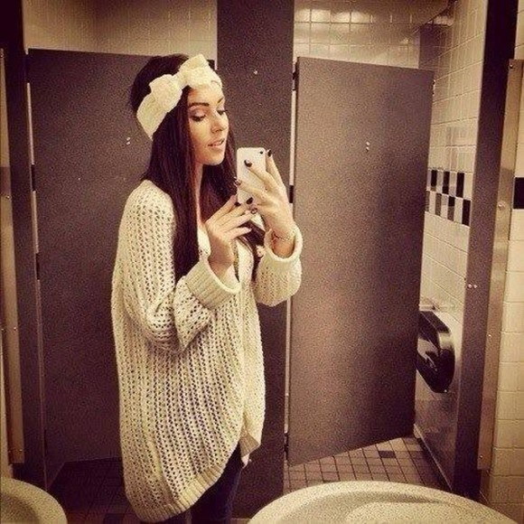 headband sweater