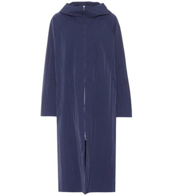The Row Haylen coat in blue