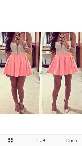 dress pink pink dress white white dress cute cute dress pink and white sexy sexy dress mini dress lace dress lace beautiful
