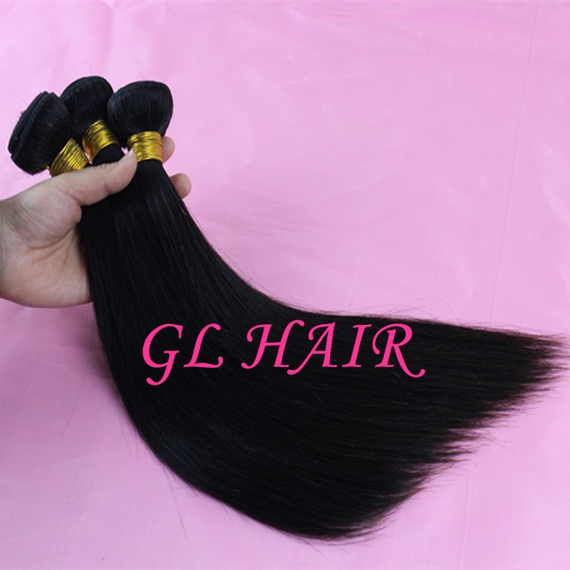 6A Unprocessed Brazilian Virgin Hair Straight hair Mixed 3pcs lot Human hair weave straight Natural color hair free shipping-in Hair Weaves from Beauty & Health on Aliexpress.com