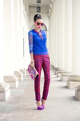 macademian girl top pants shoes bag jewels sunglasses