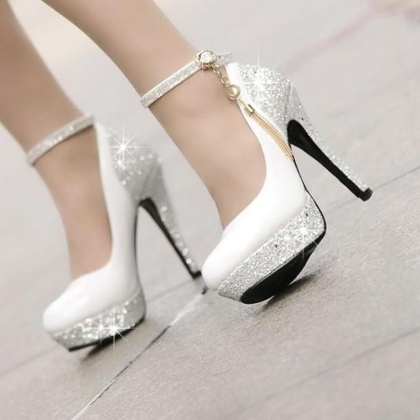 shoes shoees white dress