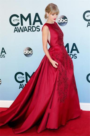 evening dress red carpet prom dress elie saab dress