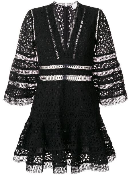 Zimmermann dress women cotton black