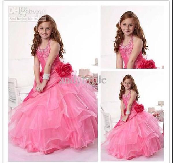 dress puffy pink dress