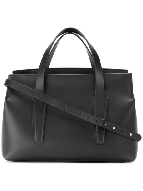 Nico Giani - Duvalial tote - women - Calf Leather - One Size, Black, Calf Leather