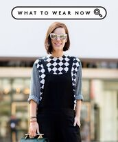 blouse,pattern,black and white,check,shirt,jumpsuit