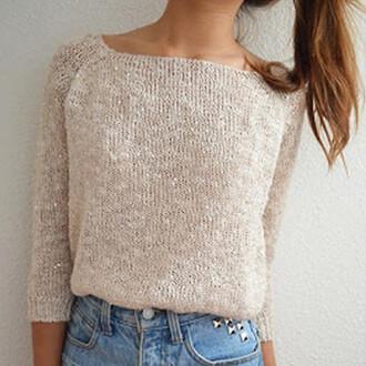 america casual glisten sweater