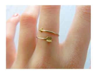 jewels arrow gold fine jewelry ring cupids arrow ring gold ring jewelry