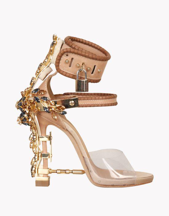 Virginia Sandals - Sandalen Mit Absatz Für Sie - Dsquared2 Offizieller Online Store