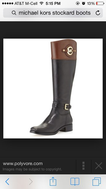 shoes mk shoes michael kors riding boots