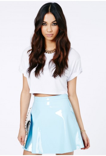 Milusia PVC Skater Skirt - Skirts - Mini Skirts - Missguided