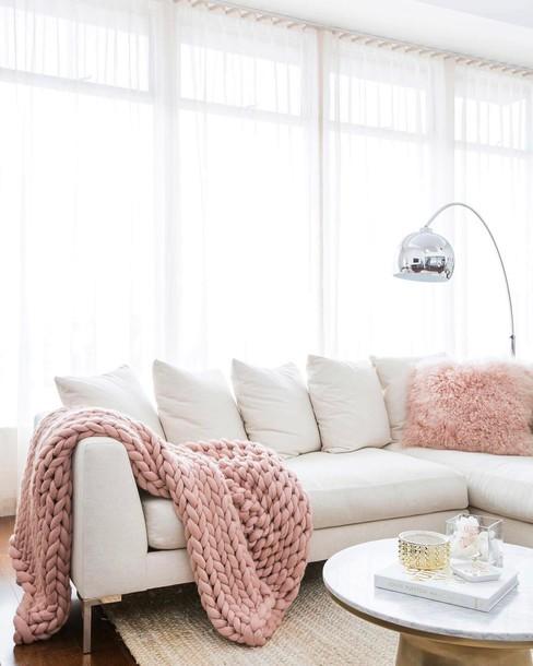 Home Accessory Tumblr Home Decor Furniture Home Furniture Sofa Blanket Chunky Knit