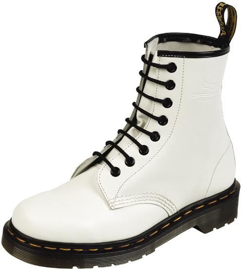New Dr Doc Martens Womens White 1460 Boots 8i Size UK 4 US 6 R11821100 | eBay