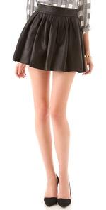 alice   olivia leather skirt | SHOPBOP