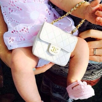 bag baby clothing mini tote chanel bag chanel