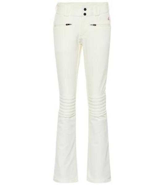 Perfect Moment Aurora flared ski pants in white