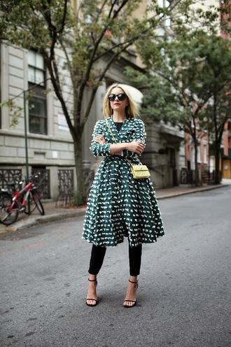 bag jewels jacket blogger atlantic pacific sunglasses