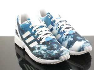 Adidas Men ZX Flux Ocean Prism Multi M19846 M19846