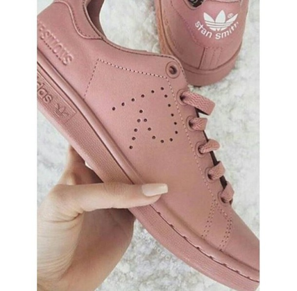 raf simons stan smith pink