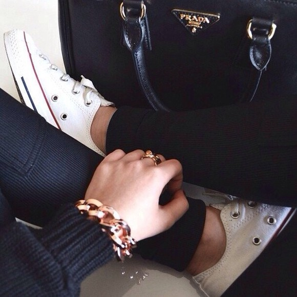 prada black pants classy black pants tumblr sweatpants black sweatpants