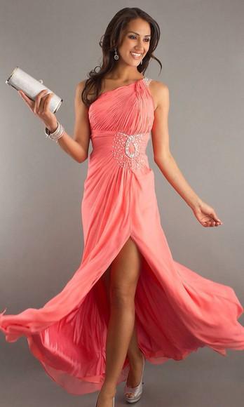 prom dress pink dress
