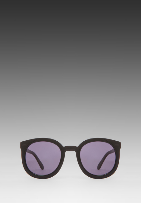KAREN WALKER Super Duper Strength in Black - New