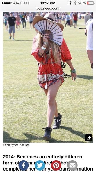 coachella outfit dress tribal pattern vanessa hudgens