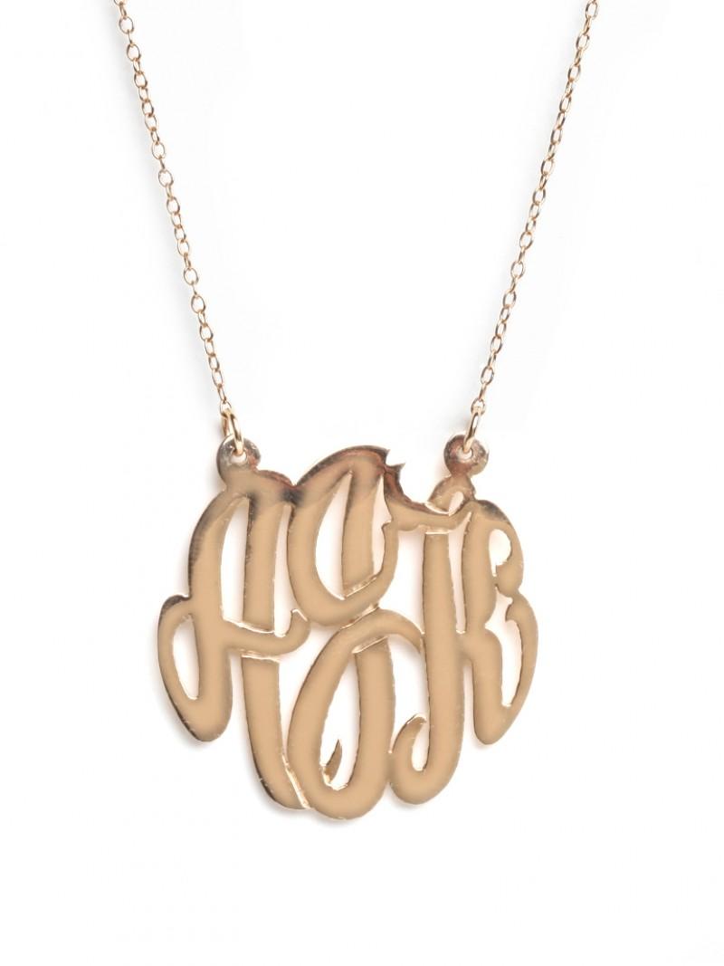 Baublebar pendant necklaces monogram pendant medium fashion baublebar pendant necklaces monogram pendant medium fashion jewelry aloadofball Images