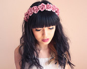 Floral headpieces inspired by nature & days gone by by kisforkani