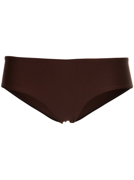 MATTEAU bikini women spandex brown swimwear