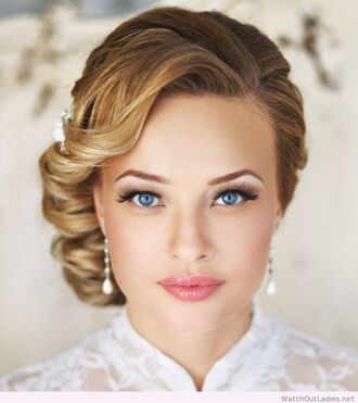 make-up fashion beauty wedding accessories wedding hairstyles