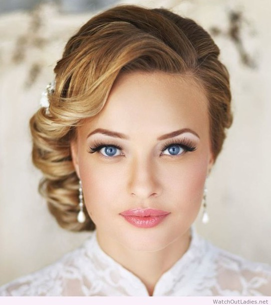 make-up fashion beautiful wedding accessories wedding hairstyles