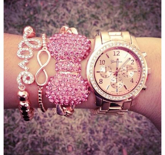 jewels braccelets pink pink jewels