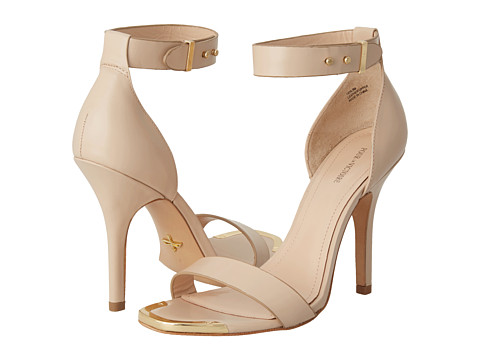 Pour la victoire yaya dress sandal nude box calf