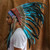 Indian Headdress - 75CM Feathers - Turquoise – Novum Crafts | Finest Handmade Art