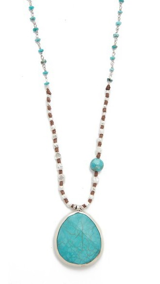 necklace pendant turquoise jewels