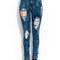 Distressed acid wash jeans gojane.com
